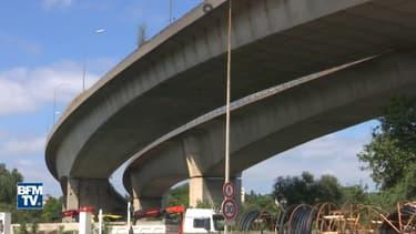 Le viaduc de Gennevilliers sur l'A15 classé catégorie 2