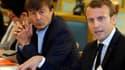 Nicolas Hulot, ministre de la Transition écologique, avec Emmanuel Macron, le 5 septembre 2017 à Paris