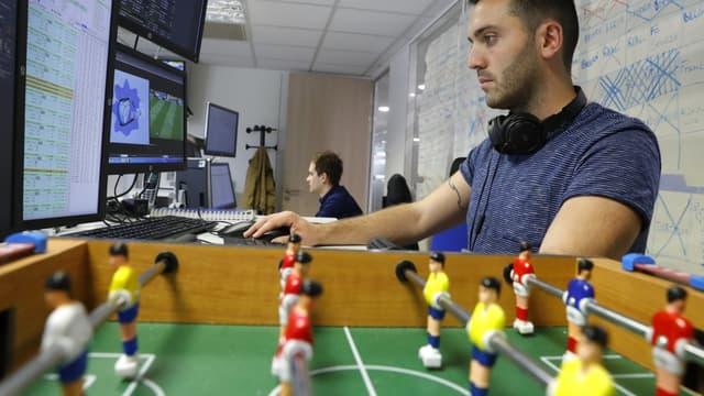 Un bookmaker de Parions Sports (FDJ)