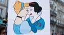 Pancarte pour le mariage et l'adoption par les couples de même sexe, le 27 janvier.