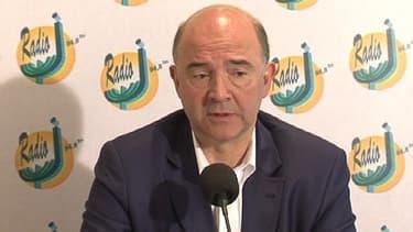 Le ministre de l'Economie Pierre Moscovici, invité de Radio J.