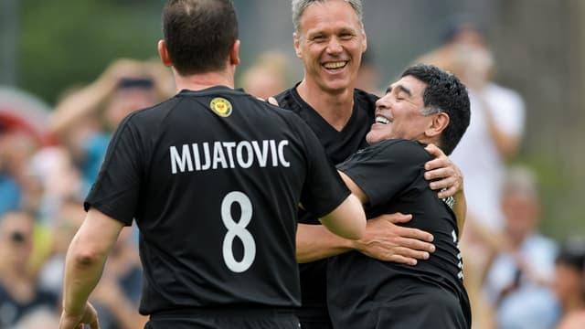 Van Basten et Maradona