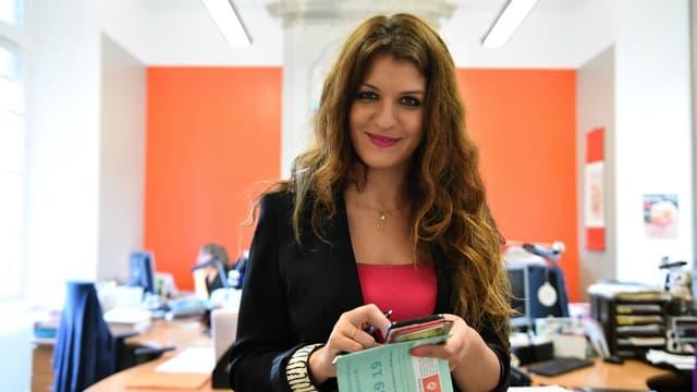 Marlène Schiappa, la secrétaire d'Etat chargée de l'égalité hommes-femmes.