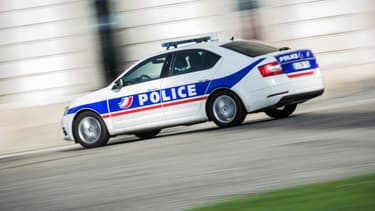 (Photo d'illustration) Une voiture de police.