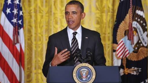 Barack Obama, ici lors du 23 janvier dernier, veut réduire les inégalités aux Etats-Unis.