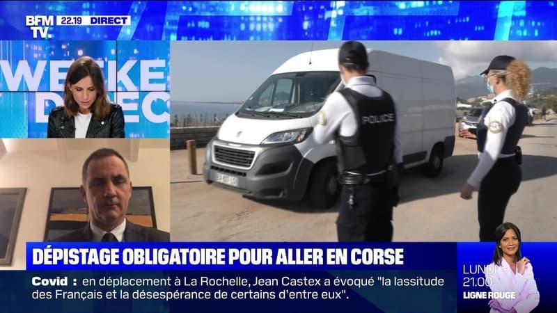 Covid-19: dépistage obligatoire pour aller en Corse - 12/12
