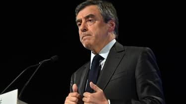 François Fillon le 13 avril 2017 à Toulouse