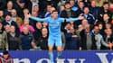 Phil Foden lors de Liverpool-Manchester City en Premier League