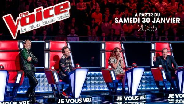 """La saison 5 de """"The Voice"""" démarre le 30 janvier"""