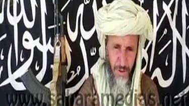 Abou Zeid, dirigeant d'al-Qaïda au Maghreb islamique, le 25 décembre 2012