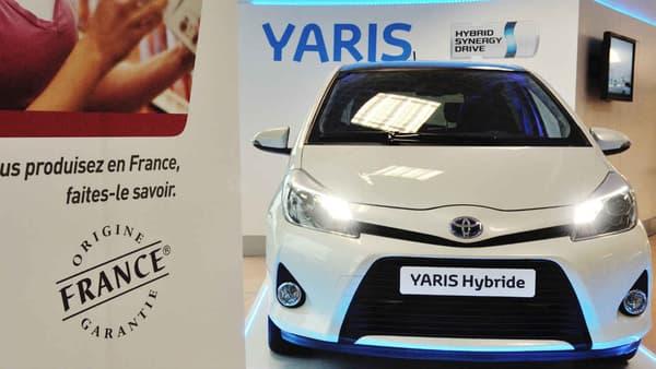 """""""Une Toyota Yaris hybride d'occasion peut être une bonne solution, elle ne consomme pas beaucoup sur route, en ville, n'a pas la contrainte de la recharge"""", propose Jean Pagézy, courtier en automobile."""