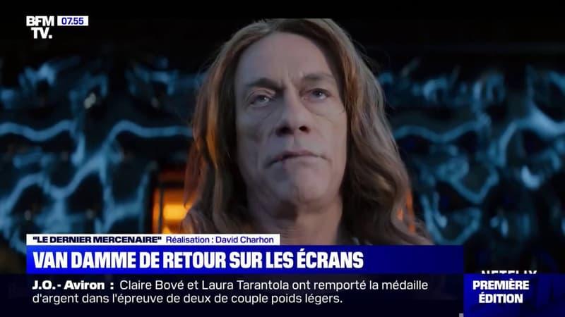 """Jean-Claude Van Damme revient sur Netflix ce vendredi dans """"Le Dernier Mercenaire"""""""