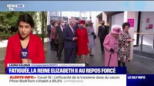 Repos forcé pour la reine Elizabeth II qui annule sa visite en Irlande du Nord