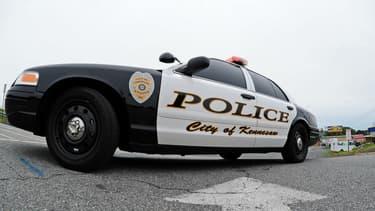 Véhicule de police aux Etats-Unis