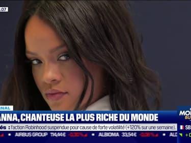 Rihanna, chanteuse la plus riche du monde
