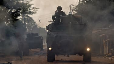 1.600 soldats français sont déployés en Centrafrique dans le cadre de l'opération Sangaris