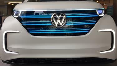 Volkswagen s'allie au constructeur chinois JAC Motors pour proposer des véhicules 100% électriques en Chine. (image d'illustration)