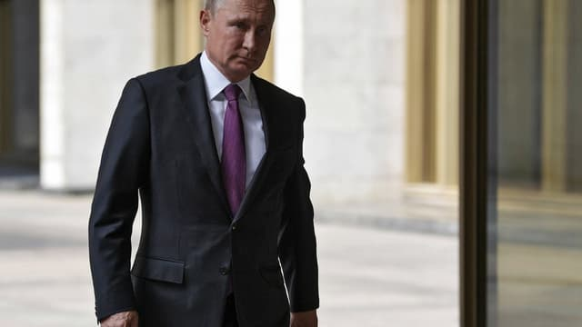 Le président russe Vladimir Poutine à Moscou, le 9 septembre 2018