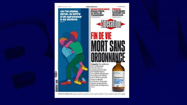 La Une de Libération ce lundi 8 mars