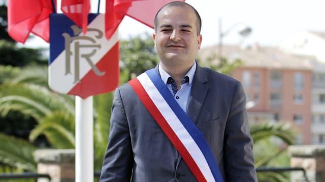 David Rachline, maire FN de Fréjus depuis mars 2014.