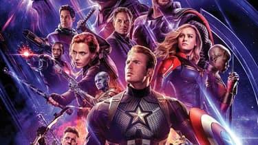 Détail de l'affiche d'Avengers Endgame