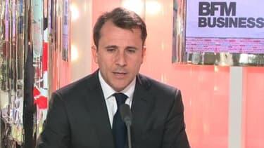 Thibault Lanxade, candidat à la présidence du Medef, sur BFM Business ce lundi 18 mars