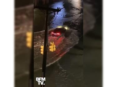 Les images des premières inondations en Caroline du Sud, touchée par l'ouragan Isaias