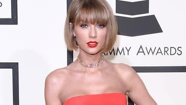 Taylor Swift aux Grammy Awards en février 2016