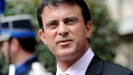 Manuel Valls est l'actuel minitre de l'Intérieur.