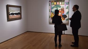 """""""Los Rivales"""" (Les rivaux), un tableau de Diego Rivera, s'est vendu 9,7 millions de dollars."""