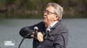 Jean-Luc Mélenchon lors de son discours de rentrée aux amphis de la France insoumise, dimanche 29 août 2021