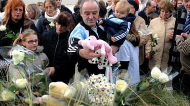 Une march blanche organisée en mémoire de la fillette, le 30 novembre 2013 à Berck-sur-Mer