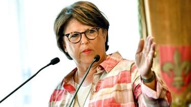 Martine Aubry à la mairie de Lille, le 3 août 2018