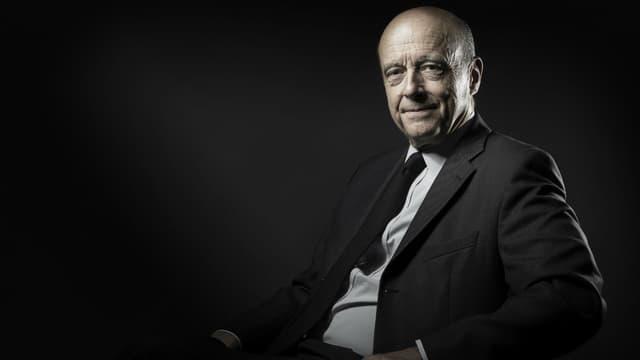 Le candidat à la primaire de la droite, Alain Juppé.