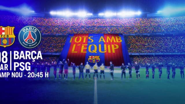 Le tifo de Barça-PSG révélé