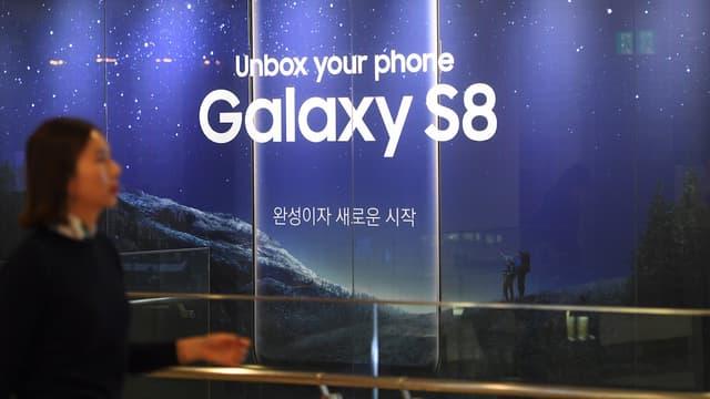 Le démarrage du Galaxy S8 rassure le constructeur sud-coréen dont l'image a été écornée avec les problèmes de batteries du modèle précédent.