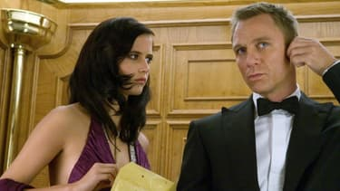 Eva Green et Daniel Craig dans Casino Royale