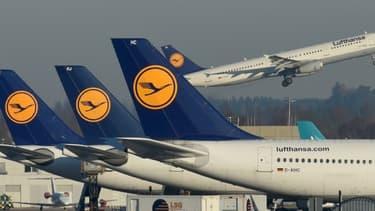 90% des avions de la compagnie sont cloués au sol