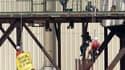 15 juillet 2013, site nucléaire de Tricastin : des gendarmes interpellent des militants de Greenpeace