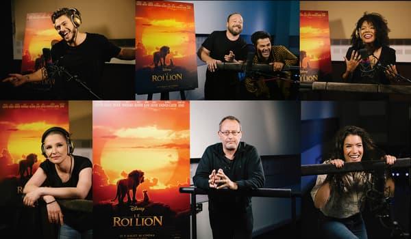 Les voix françaises du Roi Lion