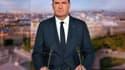 Jean Castex sur le plateau de TF1.