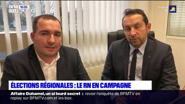 Régionales: le Rassemblement national en campagne dans les Hauts-de-France