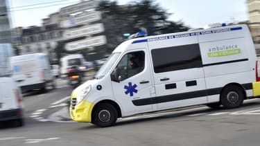 Une ambulance. (Photo d'illustration)