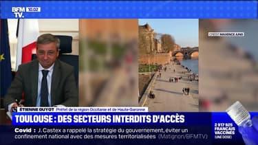 Toulouse: des secteurs interdits d'accès - 28/02