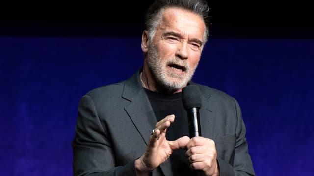 Arnold Schwarzenegger en avril 2019