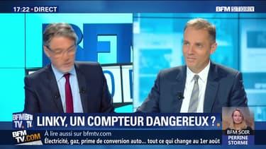 """Laurent Martinet: """"la pose des compteurs n'a aucune incidence sur l'hyper-électrosensibilité de ces personnes"""""""