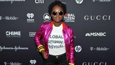 Lupita Nyong'o à New York en 2017