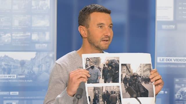 """Olivier Besancenot (NPA), a accusé ce lundi sur BFMTV, des policiers """"d'infiltrer"""" les casseurs et ainsi de favoriser les violences dans les manifestations organisées après la mort de Rémi Fraisse."""