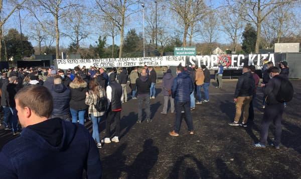 Les supporters du FC Nantes