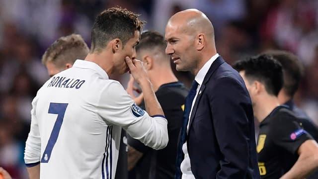 Zinedine Zidane va devoir se passer de Ronaldo pour les cinq prochaines rencontres du Real.